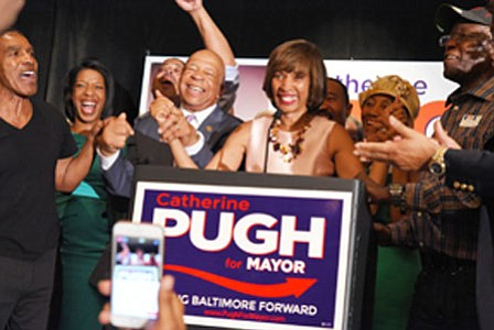 "After blazing a trail to election victory on Tuesday, Baltimore Mayor-elect Catherine Pugh said she's ready to begin ""lighting up ..."