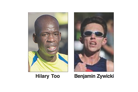The 39th Annual Anthem Richmond Marathon is Saturday, Nov. 12. The race could boil down to this: Benjamin Zywicki vs. ...