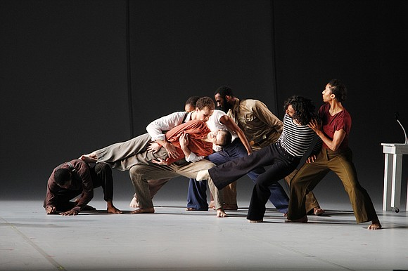 """There is more dancing, less talking but equal amounts of emotional jolts in Bill T. Jones/Arnie Zane Company's """"Analogy/Lance: Pretty ..."""