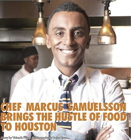 Food has always surrounded the life of Chef Marcus Samuelsson. Since he could put one foot in front of the ...