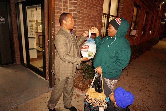 City Council Member Andy King hosted two events at which his office donated turkeys and coats to those in need ...