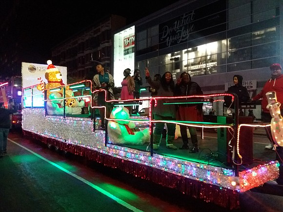 The 125th Street BID and Community Board 9 kicked off the holiday season in Harlem Nov. 17 with the Parade ...