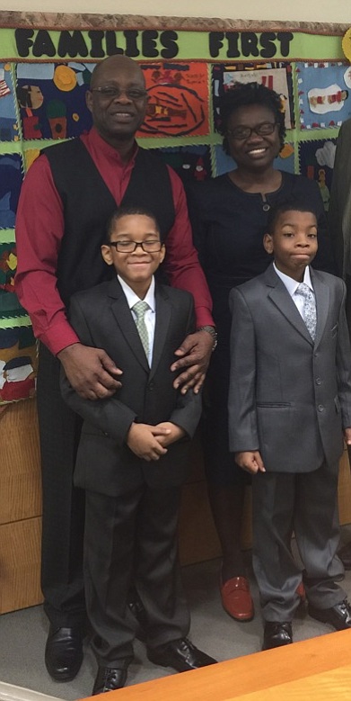 This Thanksgiving is very special for the Gillian and Orlando McAllister's family as they officially add two more seats to ...