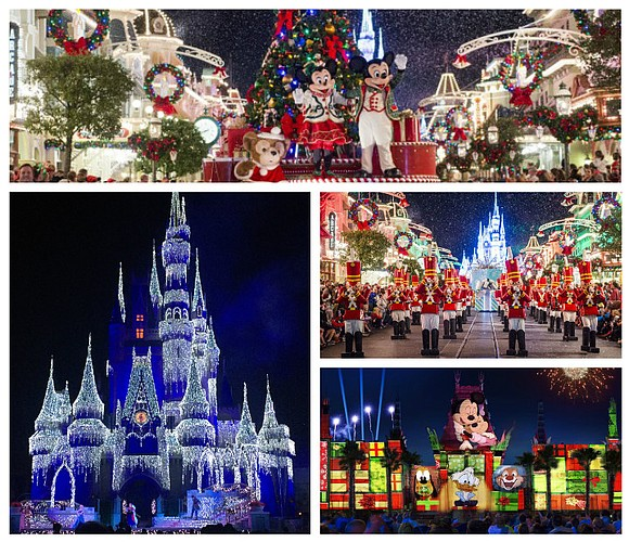 The holidays bring festivities all around, but no place does festive quite as extravagantly as Disney World. Orlando's Disney World ...