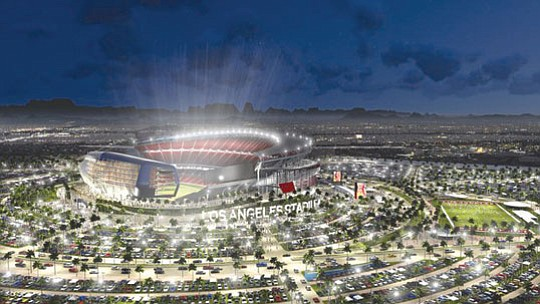 Rams Break Ground On New Inglewood Stadium Our Weekly Black News And Entertainment Los Angeles