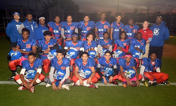 As I watched the Bronx Giants play football Saturday afternoon on Evander Childs High School's field in the Bronx, I ...