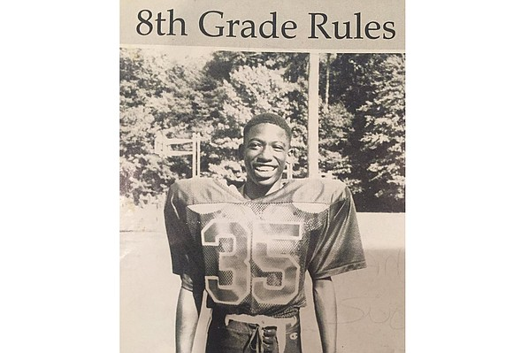 Long before Levar Stoney threw his hat into Richmond's political ring, he was tossing footballs for York County's Tabb High ...