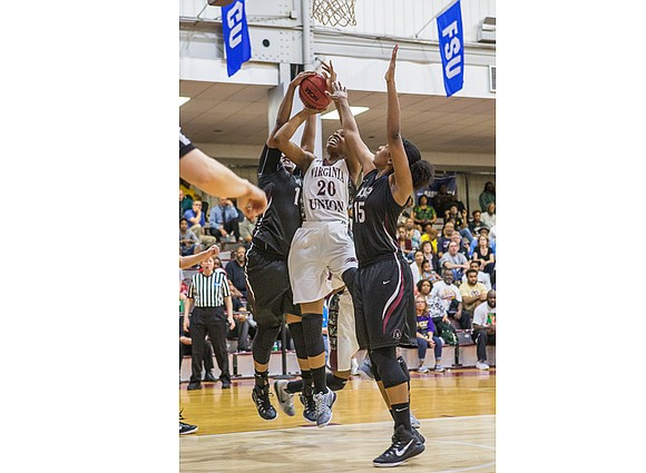 It's a small world. If you didn't believe that before, you will with Virginia Union University basketball standout Lady Walker. ...