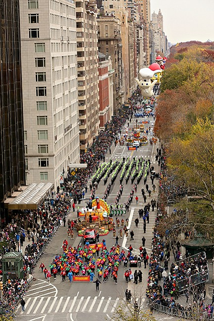Today's Macy's Thanksgiving Day Parade in Midtown gets a touch of Uptown as 150 elementary school dancers from the Harlem-based ...