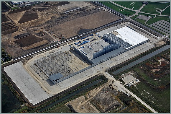 The solar powered Ikea distribution center in Joliet is expected to open in 2018 and will create 100 full-time jobs.