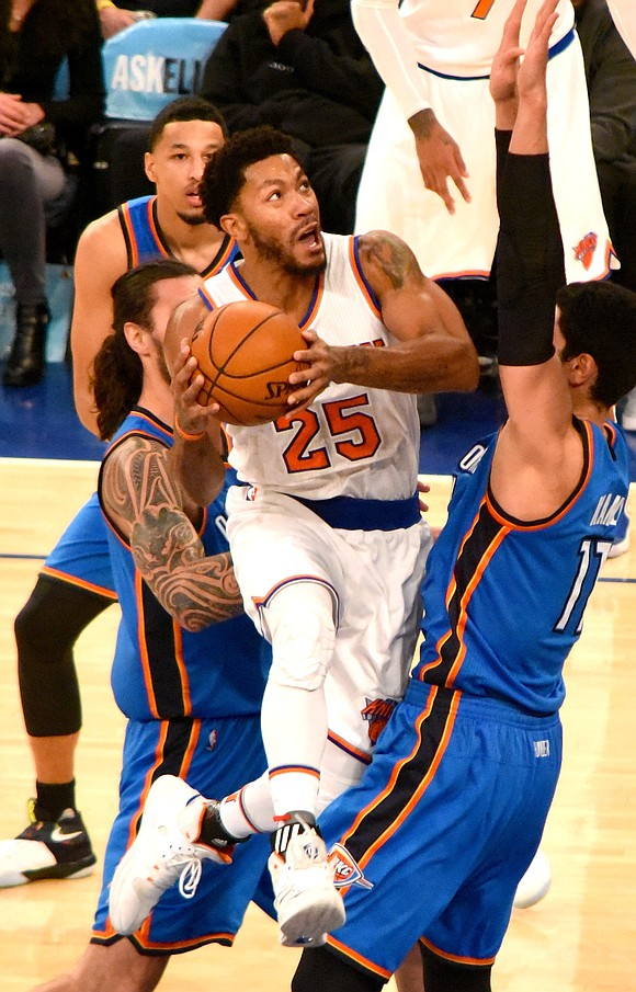 Monday night at Madison Square Garden, Derrick Rose confronted what for many is an unnerving image of his former self ...