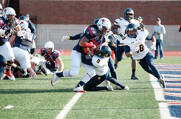 North Carolina A&T State University's 2015 football season ended with a party as victors of the inaugural Celebration Bowl. This ...