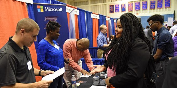 Morgan Receives $2M UNCF Grant To Help Graduates Secure Careers (Photo courtesy: Morgan State University)