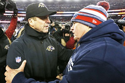 The Baltimore Ravens face a New England Patriots team that has become a rival despite not being in the same ...
