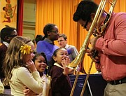 Beginning with the current school year, top-level Conservatory student musicians will perform musical programs in Baltimore City and Maryland Schools. With help from Young Audiences, the programs will be available to all 181 Baltimore City schools and the city's 80,000+ students. Peabody's presence in schools will come in the form of two programs: Marquee Brass and Peabody Opera Theatre.