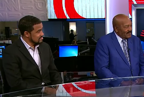 NFL legend Jim Brown stopped by Trump Tower Tuesday for a meeting pegged as a discussion about issues facing the ...