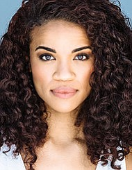Britney Coleman  plays Cinderella in Into the Woods