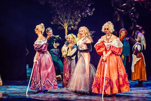 Into the Woods the fairytale filled musical enchants Houston audiences at the Hobby Center.