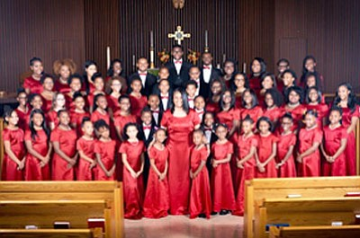 The Singing Sensations Youth Choir will perform on Sunday, December 18, 2016 at FCF World Outreach located at 9306 Winands ...
