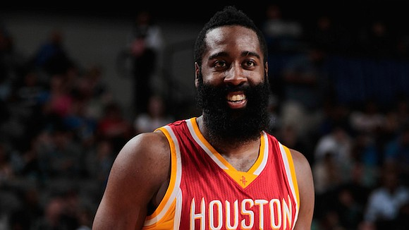 The NBA announced that James Harden has been named Western Conference Player of the Week for games played from Monday, ...