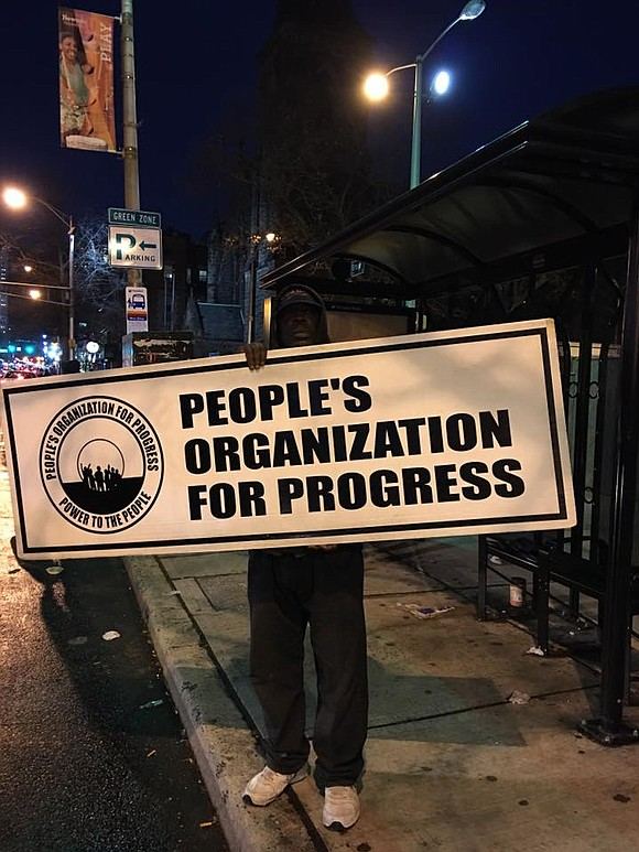 The People's Organization For Progress held an observance on the anniversary of the passage of the 13th Amendment to the ...