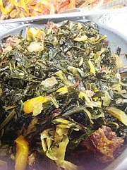 Liberian Collard Greens and Cabbage