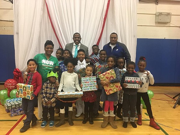 Saturday, Dec. 10, State Sen. Kevin Parker and Natasha Wilson of NOW Productions hosted a Christmas party for kids at ...