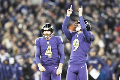 The Baltimore Ravens are in the midst of a playoff and the AFC North Divisional title hunt.
