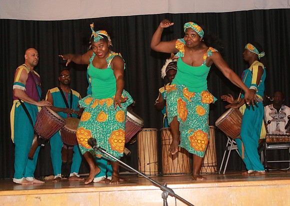 The 50th anniversary of Kwanzaa was celebrated all over the world and all across the city in New York.