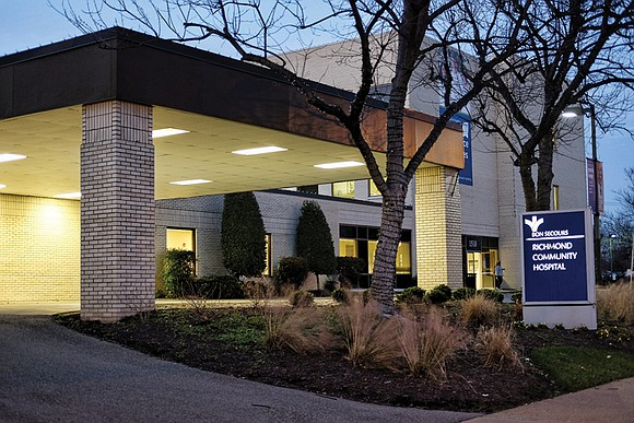 Is Bon Secours planning to close the small intensive care unit later this month at its 104-bed Richmond Community Hospital ...