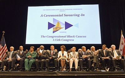 During the Ceremonial Swearing-In event a few blocks from The White House, the Congressional Black Caucus Foundation, Inc., honored Rep. ...