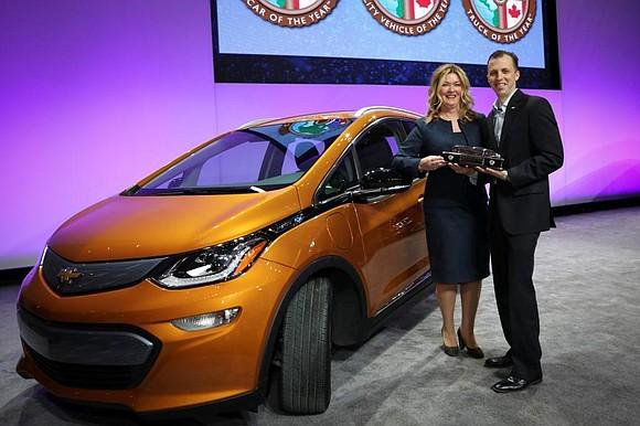 The 2017 Chevrolet Bolt electric car, Honda Ridgeline pickup and Chrysler Pacifica minivan were named 2017 North American Car, Truck ...