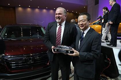 Honda Ridgeline Named 2017 North American Truck Vehicle of the Year