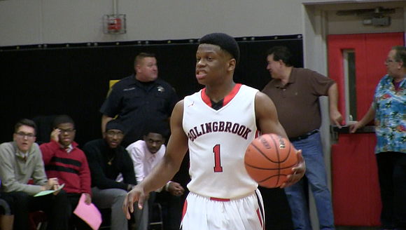 Bolingbrook continues its undefeated streak with a win against Homewood-Flossmoor.