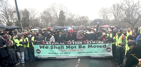 Hundreds of marchers gathered in Washington D.C. this past Saturday. The Rev. Al Sharpton and the National Action Network, in ...