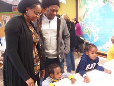 Families flocked to Port Discovery last weekend in search of a meaningful way to honor the life of Dr. Martin ...