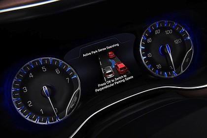 inside the 2017 Chrysler Pacifica