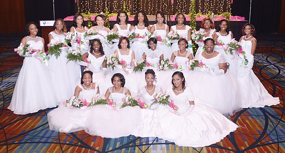 Twenty young women were presented by the Upsilon Omega Chapter of Alpha Kappa Alpha Sorority at its 2016 Debutante Presentation ...
