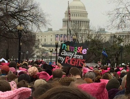 More than a million Americans took to the streets of the United States to protest Donald Trump the day after ...