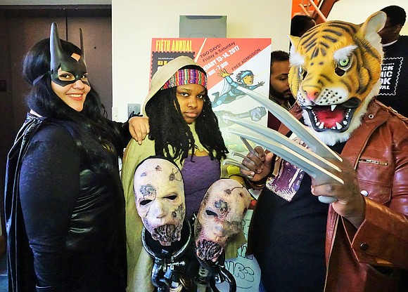 The Schomburg Center hosted their 5th annual Black Comic Book Festival, expanded over two days. Comic fans of all ages ...