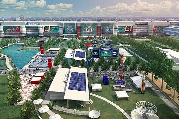 Super Bowl LIVE presented by Verizon is anchored in Discovery Green. The 750,000 square foot entertainment area features live music ...