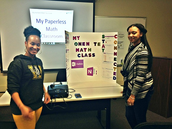 Joliet Township High School students and teachers showcased their digital learning experiences at the Joliet Area K-12 DeICE Winter Mini ...