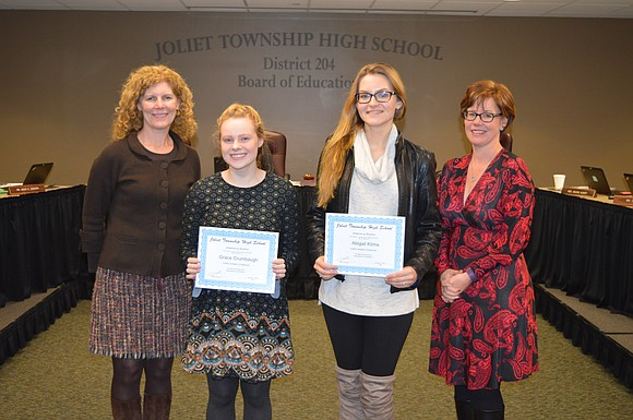 During the JTHS Board of Education meeting on January 17th, Joliet Township High School proudly recognized students who received All-State ...