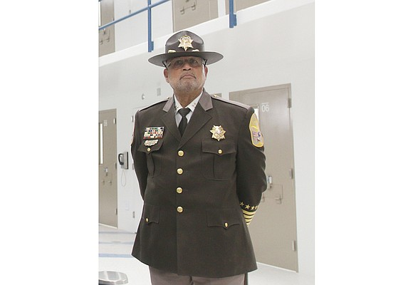 """Richmond Sheriff C.T. Woody Jr. describes the 500 video cameras that record inside the Richmond Justice Center """"as a sort ..."""