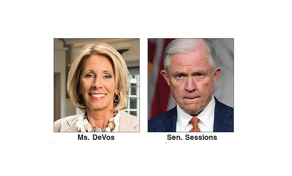 Two of President Trump's controversial picks for his cabinet have been confirmed by the Senate and are ready to take ...