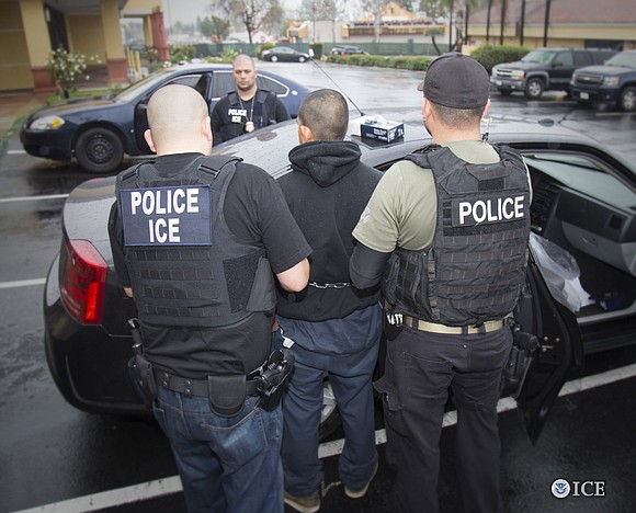 Immigrant rights activists and Democrats are raising concerns this weekend about recent immigration enforcement actions -- though immigration officials maintain ...