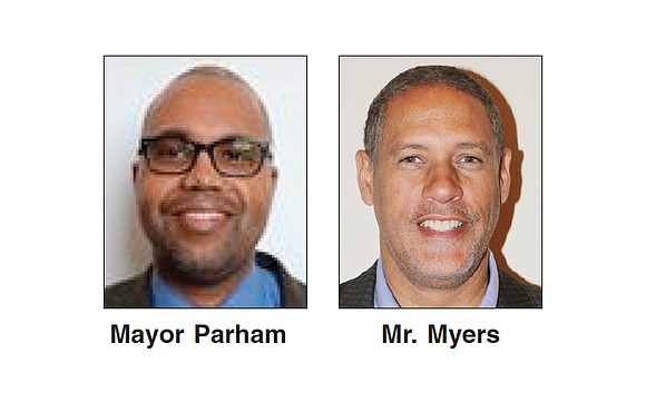 Petersburg Mayor Samuel D. Parham, 3rd Ward, and Councilman W. Howard Myers, 5th Ward, are keeping their city council seats.