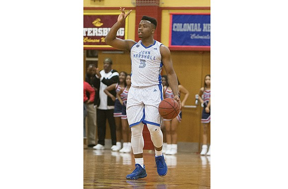 Richmond's John Marshall High School boasts perhaps the tallest basketball front line in Virginia in 6-foot-9 Isaiah Todd, 6-foot-7 Isaiah ...