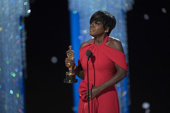 Viola Davis's award season hot streak just ended with a bang.