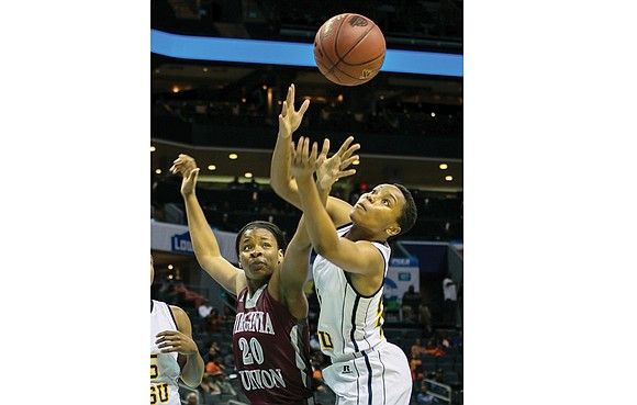 Virginia Union University's women's basketball team hit a speed bump but probably not a dead end at the CIAA Tournament ...